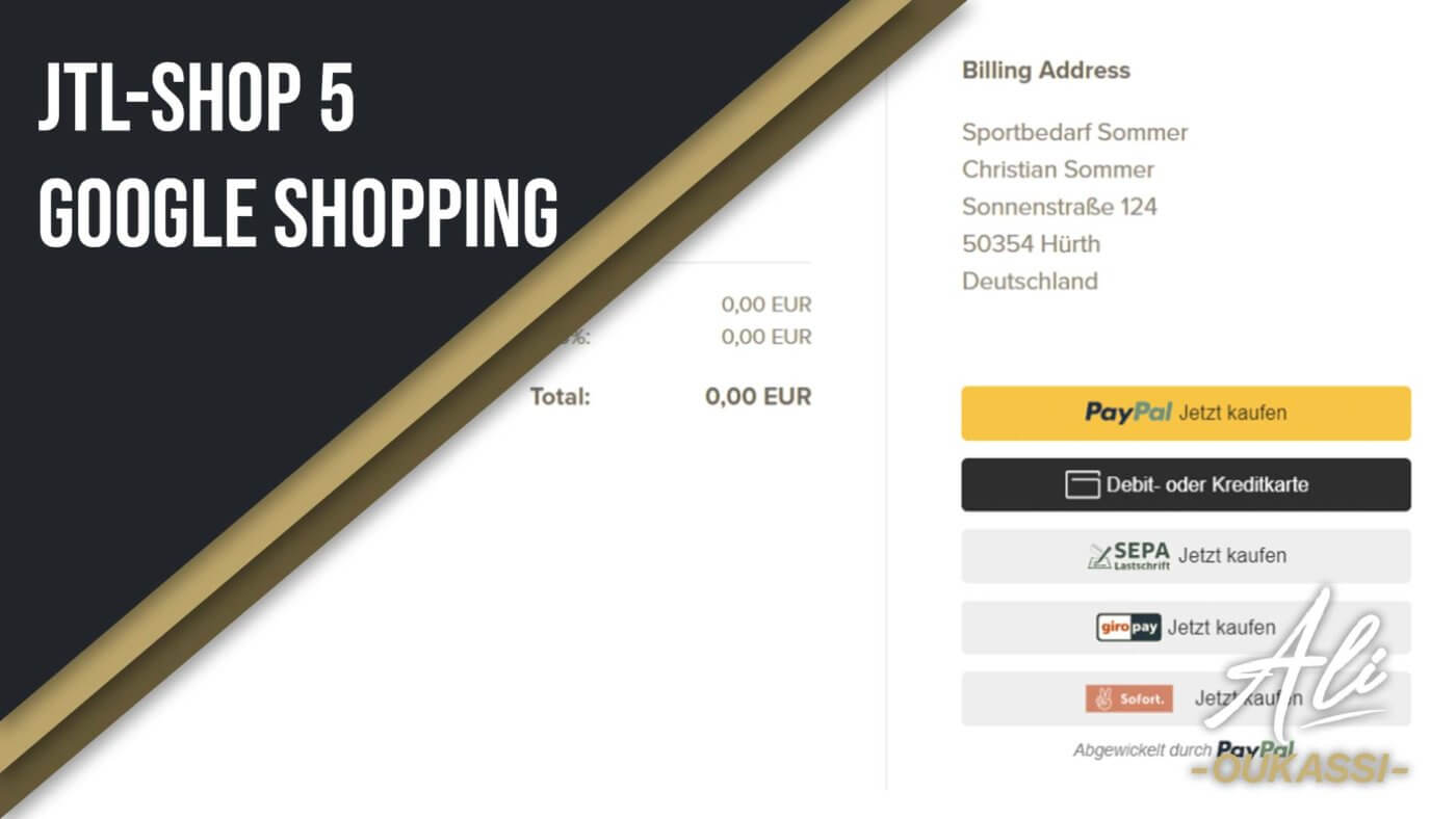 JTL-Shop 5 Google Shopping